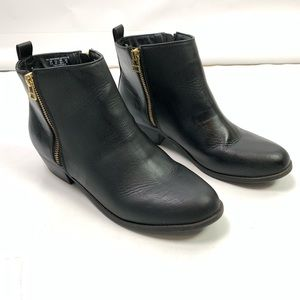 SM New York Black Mojave Ankle Booties Boots 9.5